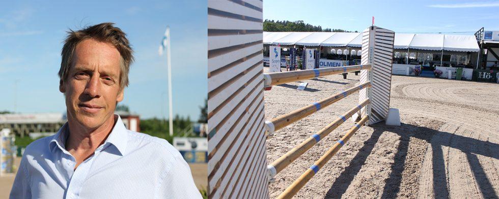 Peter Lundström vill inte jobba med plastbommar på tävling.