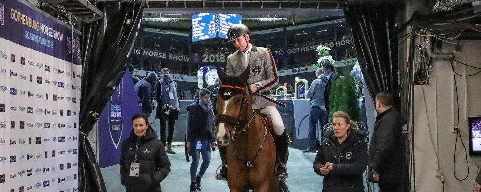 GÖTEBORG, SVERIGE - 24 FEBRUARI  2018 : Peder Fredricson - Hansson WL, Gothenburg Horse Show 2018 den 24 februari i Göteborg ( Foto: Fredrik Jonsving )