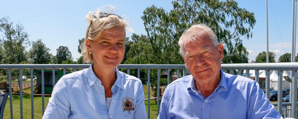 """Jan-Olof """"Jana"""" Wannius och Elisabeth von Schrowe Foto: Kim C Lundin"""