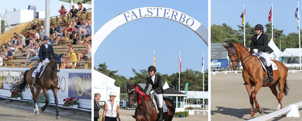 Ögonblicket alla både drömt om och varit nervösa för var inne, drömmen om Falsterbo är stark. Foto/montage: Kim C Lundin