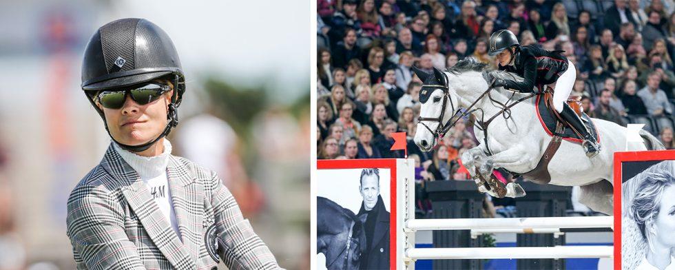 Cue Channa är inte aktuell för VM. Det berättar Malin Baryard Johnsson för SVT Sport. Foto. Fredrik Jonsving