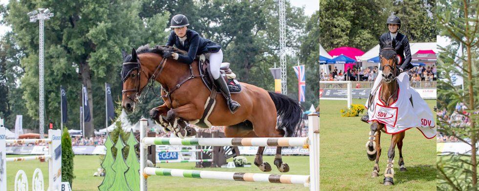 Jovita och Erica Swartz Foto:  www.sportfotos-lafrentz.de/Stefan Lafrentz