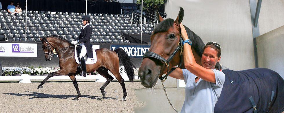 Super-Ebba von Essen och Fina Macacho tog sig rakt ini 7-årsfinalen som enda svensk. Foto: Margit Ticklén / Kim C Lundin