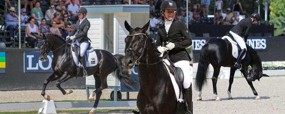 Total Hope och Pernilla André Hokfelt tog hem lilla finalen för 6-åringar. Foto: Kim C Lundin