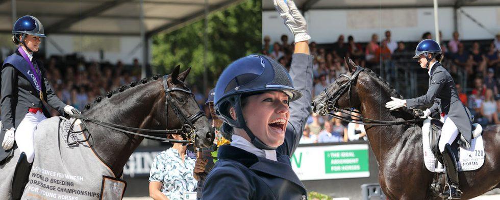"""Charlotte """"Lottie"""" Fry vinner på Glamourdale. Foto: Kim C Lundin"""