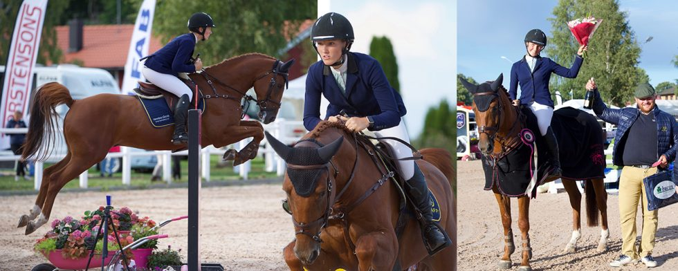 AC Glow och Sofi Hellberg. Foto: Haide Westring, Champion of the Youngsters