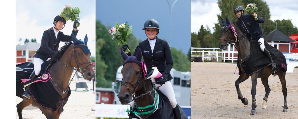 Jüri Sokolovski, Stephanie Holmén och Niklas Arvidsson är gänget som plockade hem segrarna i årets Champion of the Youngsters. Foto: Haide Westring