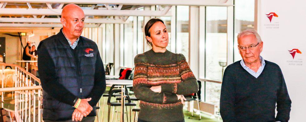 """Sylve Söderstrand och Lisen Bratt Fredricson är tillsammans med Jan-Olof """"Jana"""" Wannius ansvariga arrangörer på Elmia. Nu kommer Sylve och Lisen att bjuda på sin långa erfarenhet i olika workshops. Foto: Kim C Lundin"""
