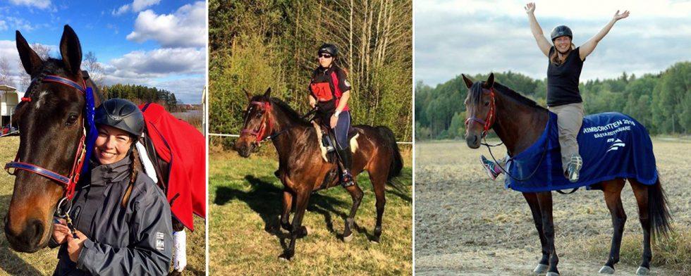 Olyckan för sjuår sedan förändrade Katarina Mungsgårds liv. Foto: Privat