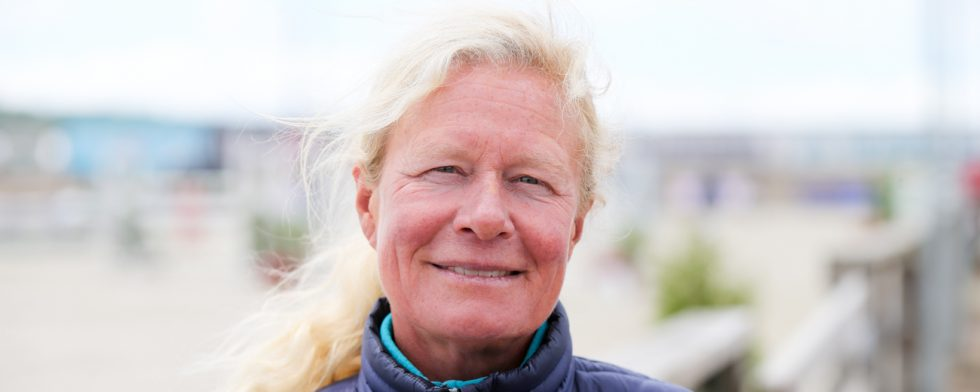 Landslagsledare. Ulrika Bidegård leder hopptruppen. Foto: Fredrik Jonsving