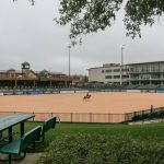 Den här fina arenan är den som fanns innan Mark Belissimo började bygga till.