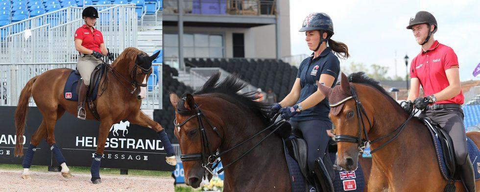 Starka konkurrrenter i form av Isabell Werth, Charlotte Dujardin och Sönke Rothenberger. Foto: Kim C Lundin