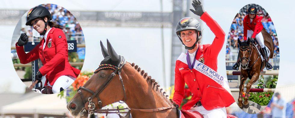 Simone Blum och DSP Alice rörde inte en bom på hela VM. Foto: Kim C Lundin