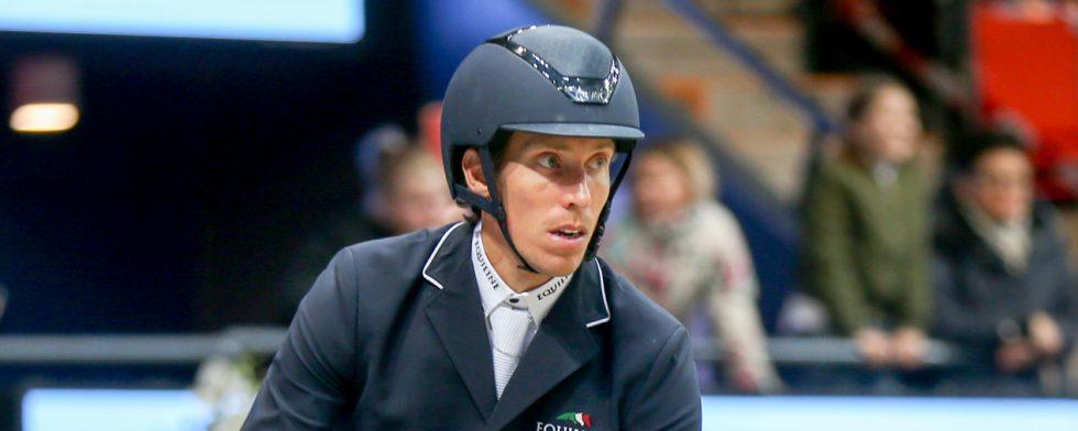 Henrik von Eckermann kom trea i förra årets final. Foto: Fredrik Jonsving