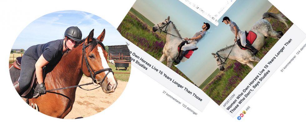 Krönikören Kim C Lundin tillhör de lättleddas skara – när det gäller att dela ut godis till sin egen hästbarbie. Foto: Kim C Lundin