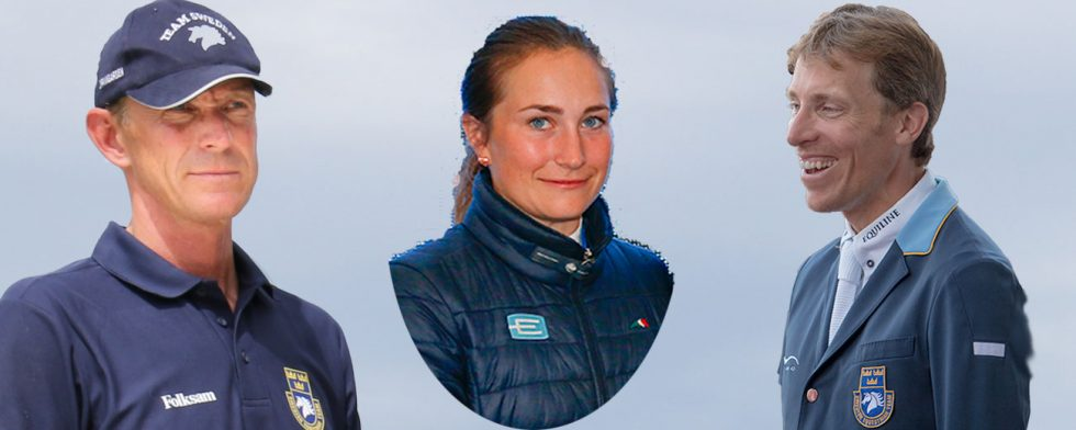 Svensk trio i världscupen med PEder Fredricson, Irma Karlsson och Henrik von Eckermann. Foto: Kim C Lundin