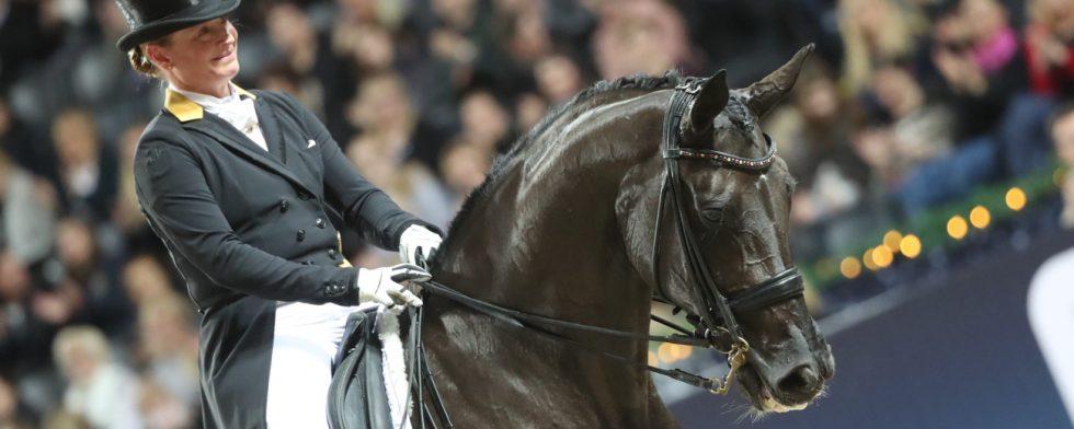 Weihegold OLD och Isabell Werth i suverän segerstil. Foto: MiP Media Mikael Persson