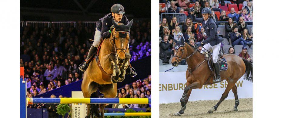 Peder Fredricson och H&M All In respektive Henrik von Eckerman tog sig båda till omhoppning. Foto: Kim C Lundin