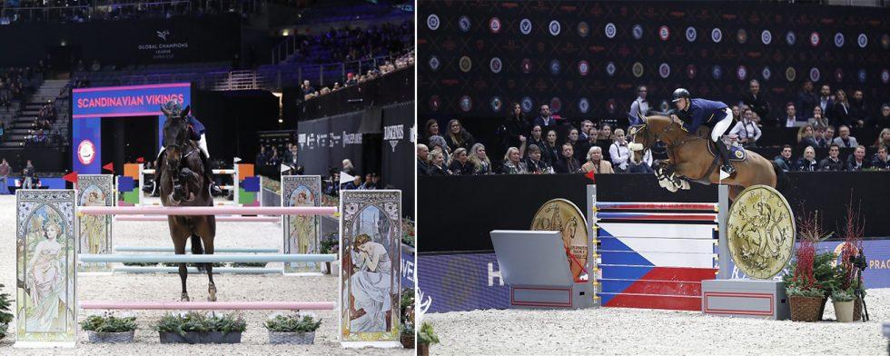 Evelina Tovek och Dalila de la Pomme gick vidare. Det gjorde inte Peder Fredricson och Hansson WL. Foto: Stefano Grasso/GCL