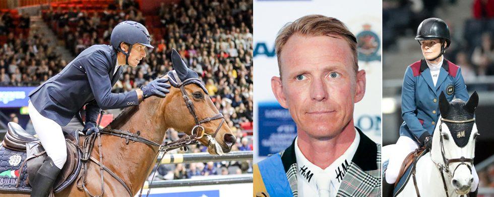Henrik von Eckermann, Peder Fredricson och Malin Baryard-Johnsson  är med i landslagets A-trupp. Foto: Fredrik Jonsving
