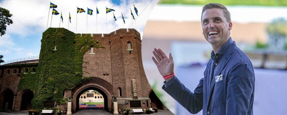 Andreas Helgstrand sponsrade VM i Tryon med sitt företyag, arrangerar själv stora tävlingar i danmark och går nu in som sponsor till dressyren under Global Champions Tour Stockholm. Foto: Axel Lundblad / Kim C Lundin