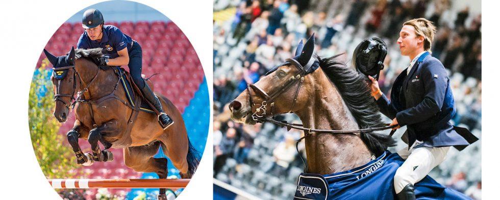 På EM  i Göteborg och som världscupvinnaren i Oslo Douglas Lindelöw med Zacramento Foto: Kim C Lundin / FEI/ Satu Pirinen