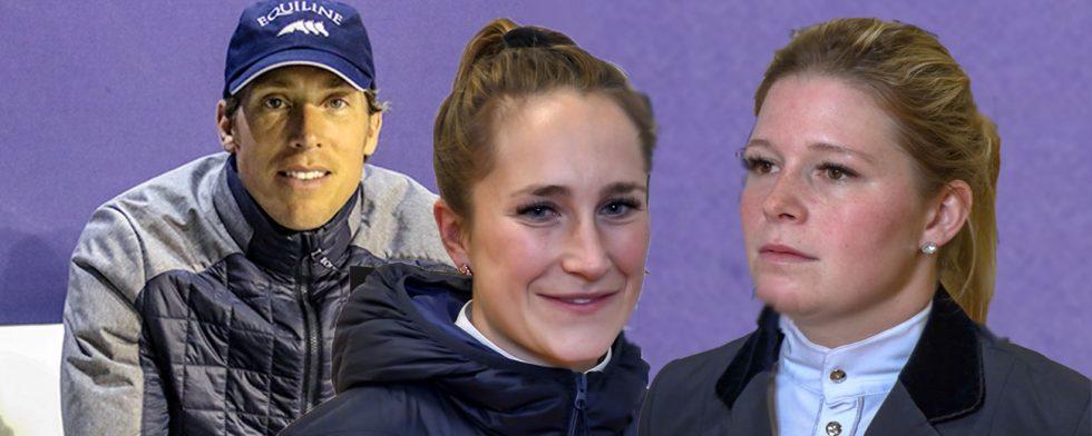 Visst väljer ni Henrik von Eckermann, Irma Karlsson och Stephanie Holmén som underhållare före Mello? Foto: Kim C Lundin