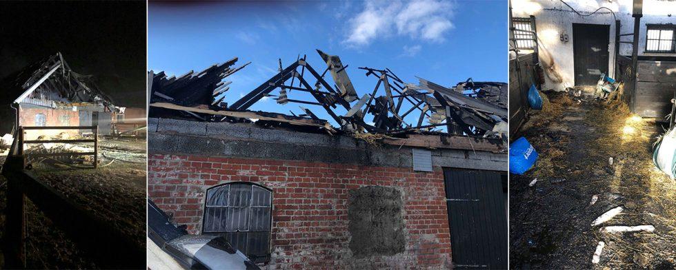 Byggnaden gick inte att rädda. Foto: Privat