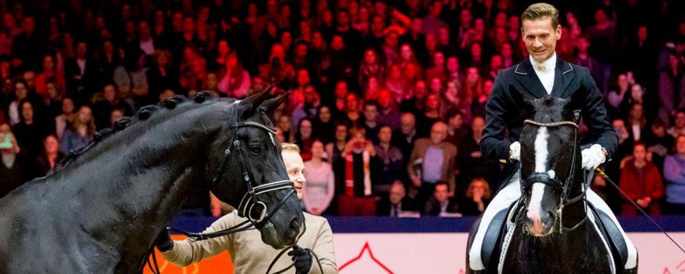 Totilas med MAtthias Alexander Rath och sonen Glock's Total US med Edward Gal Foto: Leanjo de Koster Digishots.nl