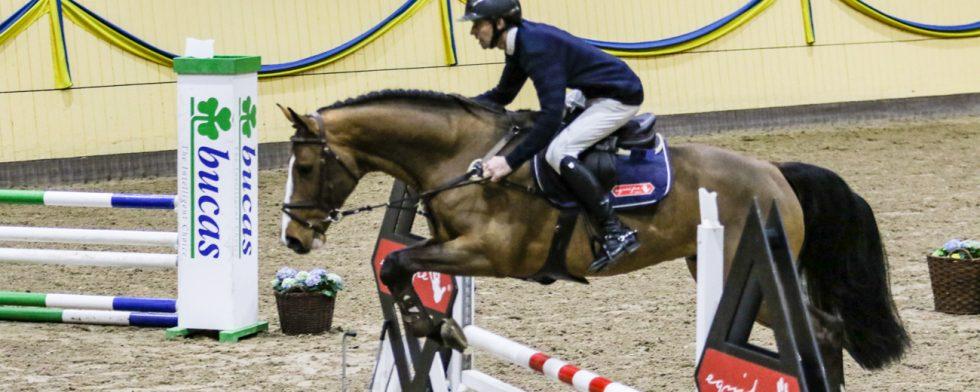 Darc Cash och Niklas Arvidsson, bra nog för Holstein och Zangersheide men  inte för SWB  Foto: Kim C Lundin