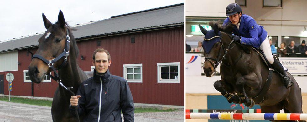 Viktor Melin och Atina. Foto: Angelica Forsberg/Fredrik jonsving