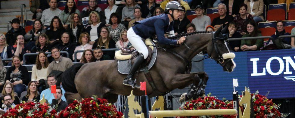 Steve Guerdat och Venard De Cerisy segrade. (Här på Alamo i Göteborg. )Foto: Kim C Lundin