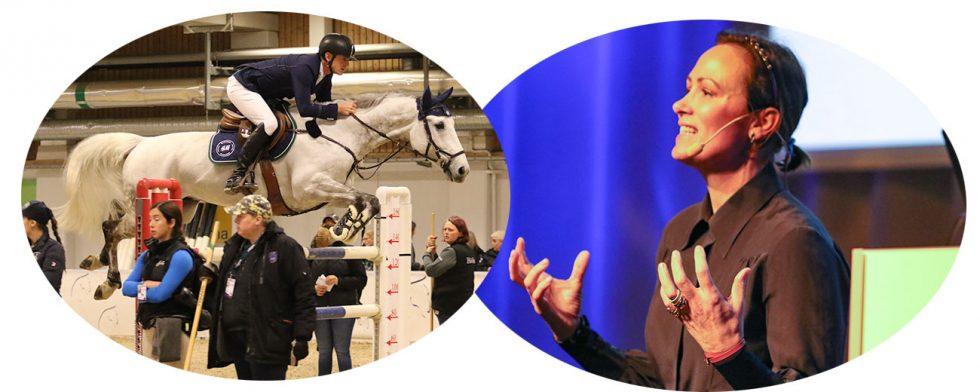 Lisen Bratt Fredricson och Peder Fredricsons bolag Grevlunda har vuxit rejält på 10 år. På Hästföretagarforum berättade hon om resan. Foto: Kim C Lundin