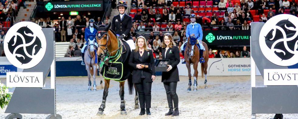 Sea Coast Monalisa vant Paradijs och Gudrun Patteet med Alexandra Mörner och Emelie Brogren Tegelberg Foto: Fredrik Jonsving