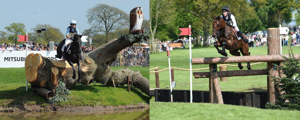 Segraren Jonelle Price och Joseph Murphy vid förra årets Badminton Horse Trials.