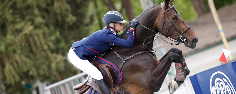 Evelina Tovek och Dalila de la Pomme. Foto Stefano Grasso/GCL