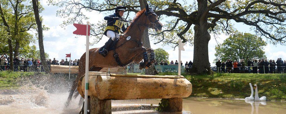 Louise Romeike och Wieloch's Utah Son. Foto Kit Houghton/Badminton Horse Trials.