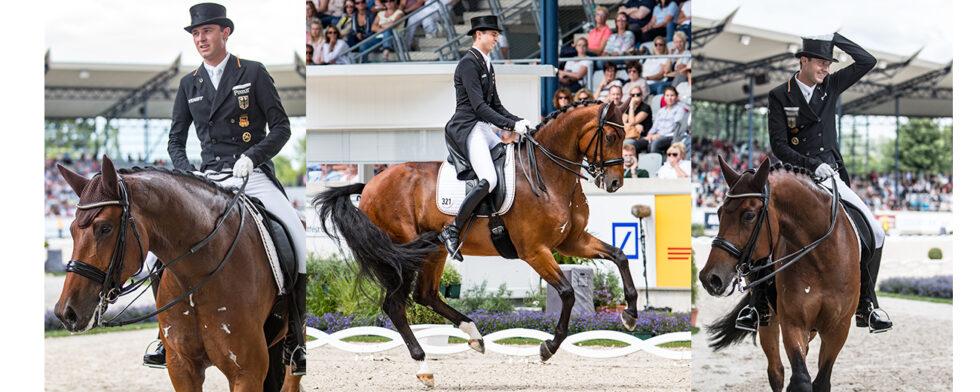 Sönke Rothenberger och Cosmo vid VM i Tryon 2018. Foto Kim C Lundin