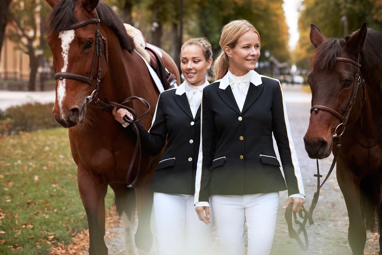 Janelle Larsson och Malin Baryard Johnsson