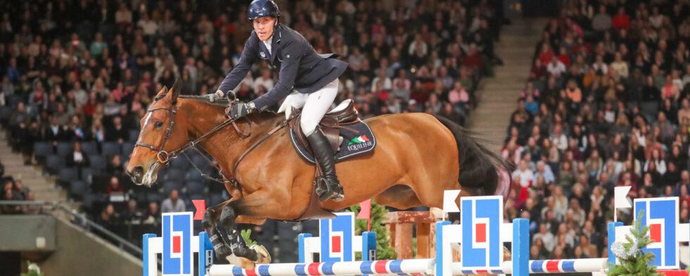 Henrik von Eckermann - Hannah satsade för seger men rutinen saknas lite än så länge. Foto: Fredrik Jonsving