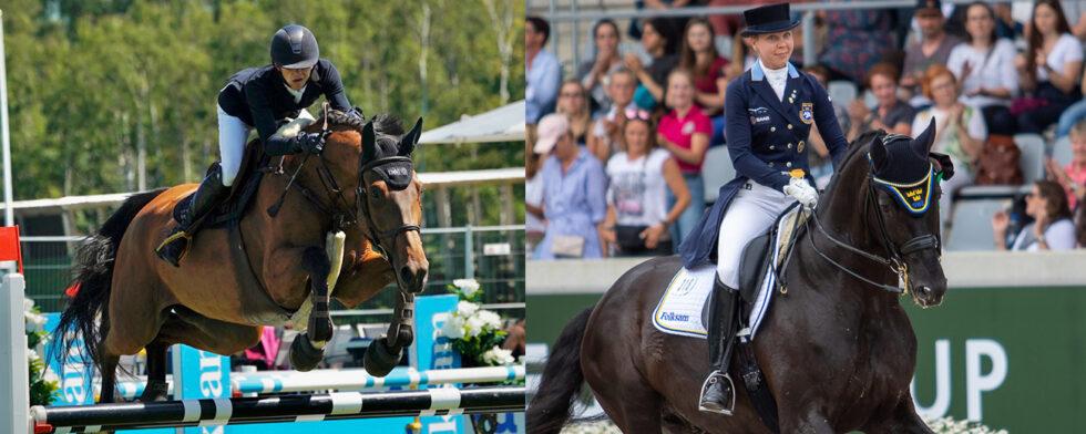 5-årsvinnaren Thorsagårdens Hertha (SWB) e Heartbeat och Dante Weltino. Foto Kim C Lundin