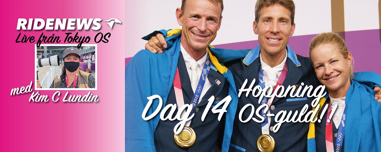 [OS i Tokyo] Videoblog med Kim C Lundin Dag 15 OS-GULD!