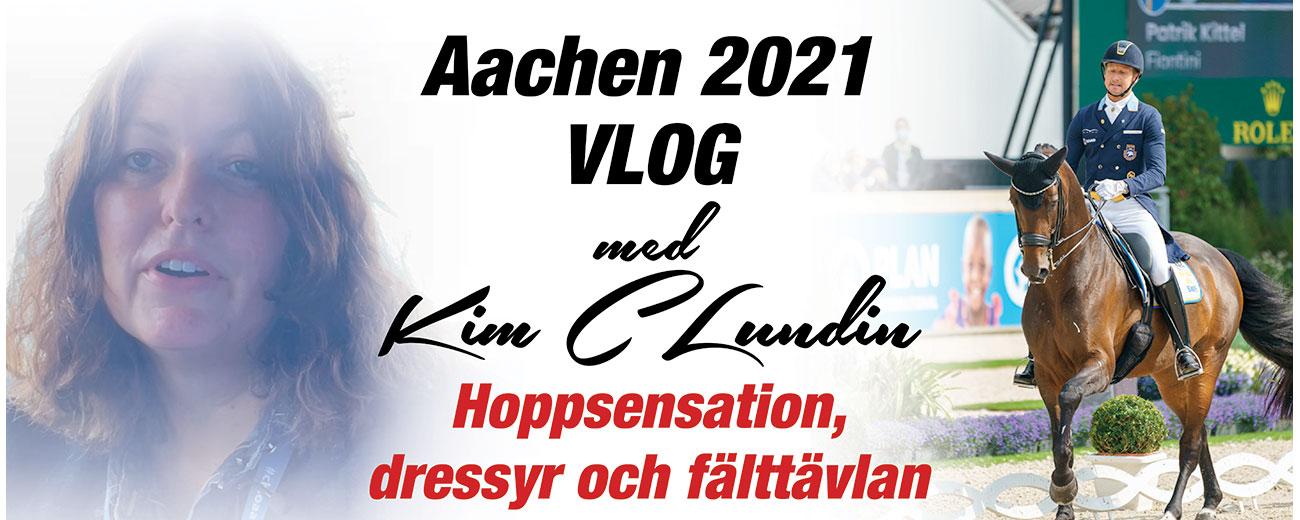 Vlog från Aachen med Kim C Lundin: Del 4