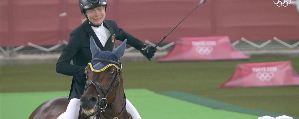 Annika Schleu modern femkamp Saint Boy OS Tokyo piskskandal spö